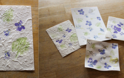 DIY Flower Prints