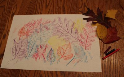 UnbeLEAFable Leaf Rubbings